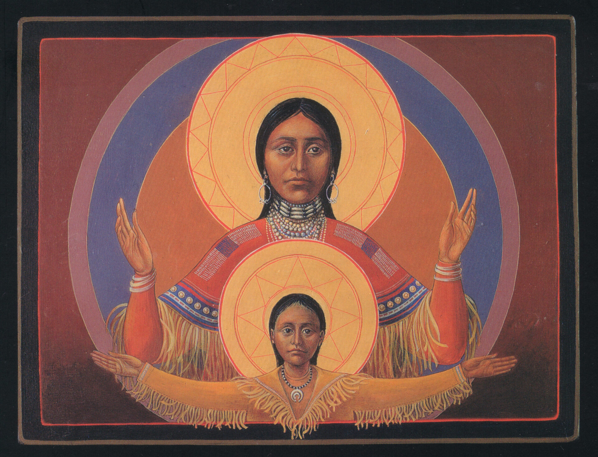 Camanche Virgin & Child