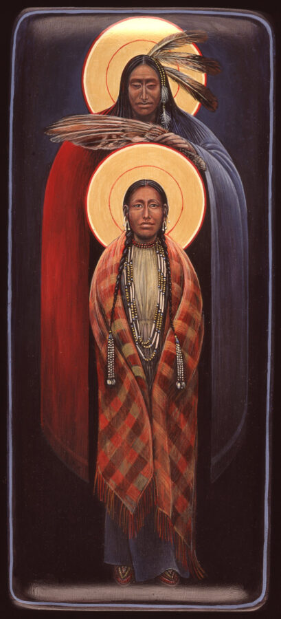 Annunciation #76 Sacred Art by Fr. John B. Giuliani