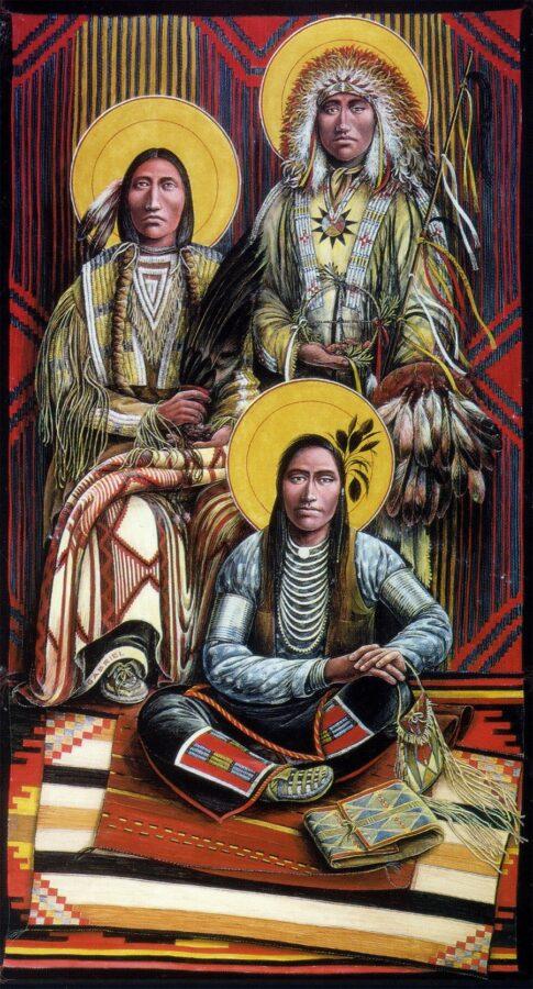 Archangels I #31 Sacred Art by Fr. John B. Giuliani