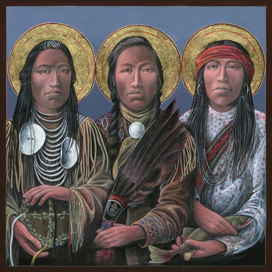Archangels II Sacred Art by Fr. John B. Giuliani