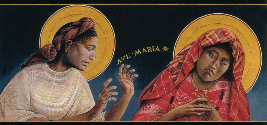Guatemalan Annunciation by Rev. Fr. John B. Giuliani