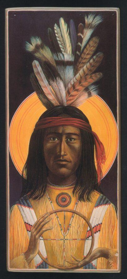 Lakota Michael Sacred Art by Fr. John B. Giuliani